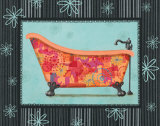Retro Tub I Poster by Pamela Smith