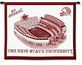 Ohio State University Stadium, Go Bucks! Wall Tapestry