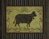 La Vache Art by Sophie Devereux