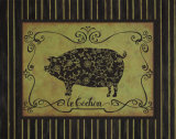Le Cochon Posters by Sophie Devereux