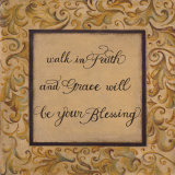 Walk in Faith Posters by Pamela Smith