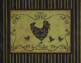 Le Poulet Poster by Sophie Devereux
