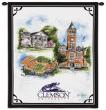 Clemson University Wall Tapestry