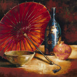 Asian Still Life I Print by S. Rodriguez