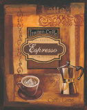 Italian Caffe Prints by Gregory Gorham