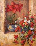 Flores de Espana II Art by Linda Wacaster