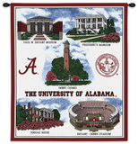 University of Alabama Wall Tapestry