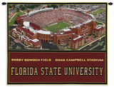 Florida State University (FSU), Doak Campbell Stadium Wall Tapestry