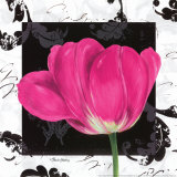 Damask Tulip II Prints by Pamela Gladding