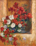Flores de Espana I Posters by Linda Wacaster