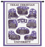 Texas Christian University (TCU) Wall Tapestry