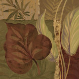 Tropical Foliage II Prints by Pamela Gladding