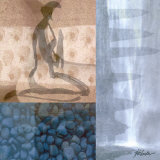 Meditation Study III Poster by Max Kab