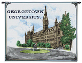 Georgetown University, Healy Hall Wall Tapestry