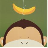 Kukkuluuruu X, apina Canvastaulu tekijänä Yuko Lau