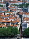 Lyon, Rhone-Alpes, France Fotografie-Druck von Glenn Van Der Knijff