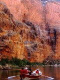 Rowing on Colorado River, Grand Canyon National Park, Arizona Photographic Print by John Elk III