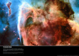 Keyhole Nebula, Art Print