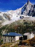 Aiguilles Verte Needle from Montenvers on Chamonix-Aiguilles Walk, Chamonix, Rhone-Alpes, France Fotografie-Druck von Glenn Van Der Knijff
