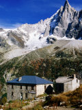 Aiguilles Verte Needle from Montenvers on Chamonix-Aiguilles Walk, Chamonix, Rhone-Alpes, France Photographic Print by Glenn Van Der Knijff