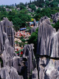 Stone Forest, Kunming, Yunnan, China Photographic Print by Krzysztof Dydynski