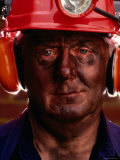 Miner, Melbourne, Australia Photographic Print by Michael Coyne