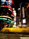 Traffic, Times Square, New York City, New York Fotografie-Druck von Dan Herrick