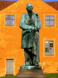 Statue of Hans Christian Andersen, Funen Island, Funen, Denmark Photographic Print by John Elk III