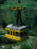 Cable-Car Travelling Up Mountain, Merida, Venezuela Photographic Print by Krzysztof Dydynski