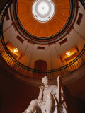 Interior Rotunda of State Capitol Building, Raleigh, North Carolina Photographic Print by John Elk III