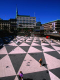 Stockholm's Infamous Sergels Torg in the Centre of Norrmalm, Stockholm, Sweden Photographic Print by Anders Blomqvist
