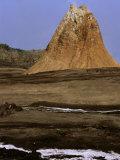 Cinder Cone of Ol Doinyo Lengai, Ngorongoro Conservation Area, Arusha, Tanzania Photographic Print by Ariadne Van Zandbergen
