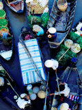 Boats at Floating Market, Vietnam Photographic Print by Richard I'Anson