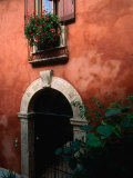 Building Facade on Piazza Bra, Verona, Veneto, Italy Photographic Print by John Elk III