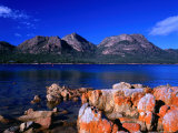 Coles Bay and the Hazards Mountain Range, Tasmania, Australia Photographic Print by Ross Barnett