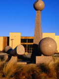 Helen Devitt Jones Auditorium and Sculpture Garden, Texas Tech University, Lubbock, Texas Photographic Print by Richard Cummins
