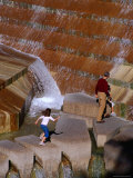 Water Gardens Waterfall, Fort Worth, Texas Photographic Print by Richard Cummins