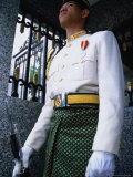 King's Guard Stands Stoic Watch Outside Istana Negara, Kuala Lumpur, Wilayah Persekutuan, Malaysia Photographic Print by Dominic Bonuccelli