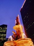Tyler Davidson Fountain, Fountain Square, Cincinnati, Ohio Photographic Print by Richard Cummins