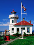 Mukilteo Lighthouse, Mukilteo, Washington Photographic Print by John Elk III