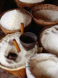 Trading Rice, Myanmar Reproduction photographique par Richard I'Anson