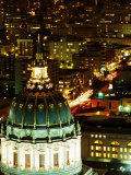 City Hall Dome, San Francisco, California Photographic Print by Brent Winebrenner