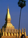 Phra That Luang, Vientiane, Vientiane Prefecture, Laos Photographic Print by John Elk III