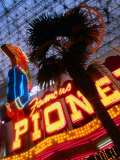 Neon Detail at the Fremont Experience in las Vegas, Las Vegas, Nevada Photographic Print by Ray Laskowitz