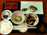 Japanese Style Breakfast, Tokyo, Kanto, Japan Photographic Print by Greg Elms