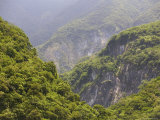 Valley of Taroko Gorge, Taroko Gorge National Park, Hualien, Taiwan Photographic Print by Brent Winebrenner