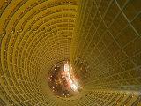Hyatt Regency Lounge on the 56th Floor, Shanghai, China Photographic Print by Brent Winebrenner