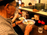 People Eating Lunch at Ramen Tei, Asakusa, Tokyo, Kanto, Japan Photographic Print by Greg Elms