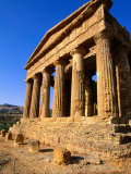 Temple of Concord, Sicily, Italy Photographic Print by John Elk III
