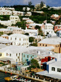 Town Buildings and Waterfront, St. George's Island, St. George's Parish, Bermuda Photographic Print by Richard Cummins
